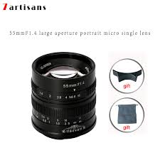 <b>7artisans 55mm F1.4</b> Large Aperture Portrait Manual Focus Micro ...