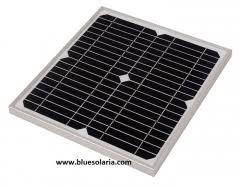 Blue Solaria | <b>10W 18V</b> | <b>Solar Panel</b> Datasheet | ENF Panel Directory