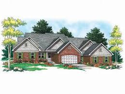 Multi Family House Plans  Triplexes  amp  Townhouses   The House Plan ShopMulti Family Home Design  M
