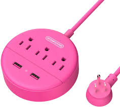 3 Outlets and ... <b>NTONPOWER</b> Travel Power Strip <b>Flat Plug Power</b> ...
