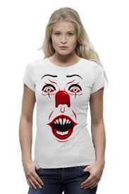 """Женские футболки c уникальными принтами """"<b>клоун</b>"""" - купить в ..."""