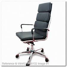 design armchair chrome black leather ev232ds office furniture chair address black and chrome furniture