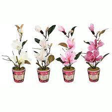 LADECOR <b>Цветок искусственный декоративный</b> в горшке, 40х10 ...