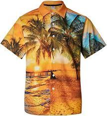 2019 New Short Sleeve Style <b>Men Casual Beach</b> Hawaii <b>Shirts</b> Fit ...