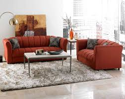 american freight furniture factory select sofa amp loveseat  factory select rust red sofa lovesea