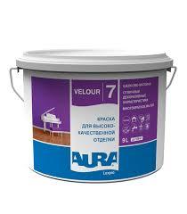<b>Краска в/д</b> моющаяся <b>Aura LuxPro</b> Velour 7 основа TR ...