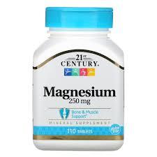 <b>Магний</b>, <b>250 мг</b>, 110 <b>таблеток</b> 21st Century, США на IZI.ua (6690608)