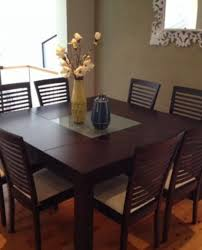 dining sets seater: outstanding square  seater dinning set structures hub regarding  seat square dining table ordinary