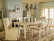 spice up your dining room with stylish slipcovers 11 photos breakfast room furniture ideas