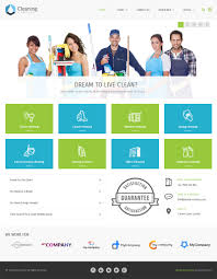 pe cleaning company wordpress theme feature review the example of a site prepared for a cleaning services company and any other similar use housekeeping carpet cleaning maid service or maintenance