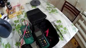 <b>Трассоискатель Mastech</b> 6818. Поиск кабеля в панельном доме ...