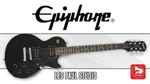 <b>EPIPHONE LES</b> PAUL STUDIO - классическая <b>электрогитара</b> Лес ...
