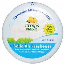 Citrus Magic, <b>Твердый освежитель воздуха</b>, <b>чистый</b> лен 20 унции ...