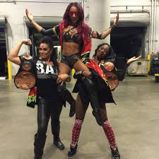 Image result for the new day sasha banks