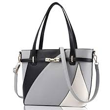 SULISO 2019 <b>Tote Bag</b> for Women with <b>Contrast Color</b> & Detached ...