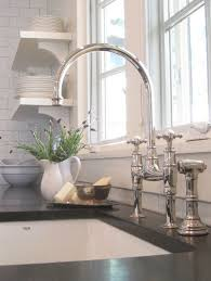 perrin rowe lifestyle: the perrin amp rowe ionian kitchen tap in nickel with side pull out hand rinse and