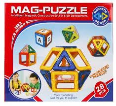 Магнитный <b>конструктор Shantou Gepai</b> Mag-Puzzle ZB28A ...