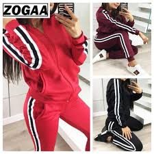 <b>ZOGAA</b> 2018 New <b>Women</b> Outfits <b>Two Piece</b> Set Top and Pants ...