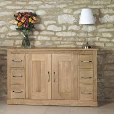 baumhaus mobel oak 6 drawer sideboard baumhaus mobel oak 2