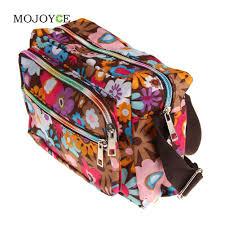 hands metal flower floral print women bag crossbody women messenger bags casual handbag c
