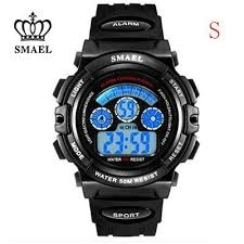 5ATM Water Resistant <b>Children Watches Boys</b> Sport <b>Digital</b> ...