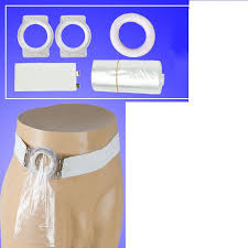 <b>Medical</b> 1 waistband Rubber band belt + 2pcs silicone anal rings +1 ...