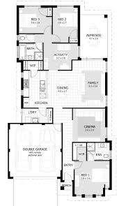 Bedroom House Plans  amp  Home Designs   Celebration Homesfloorplan preview