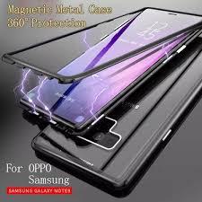 <b>Case Samsung Magnetic</b> Metal Frame Glass <b>Cover for Samsung</b> S7 ...