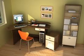 orange chair furniture home office ideas basic home office