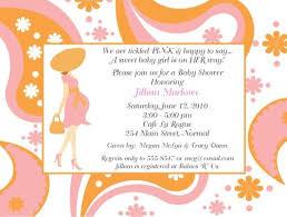 Baby Shower Invitation: Baby Shower Invitation Wording Ideas ...