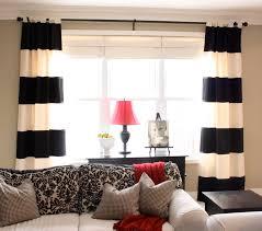 bedroom curtains white design