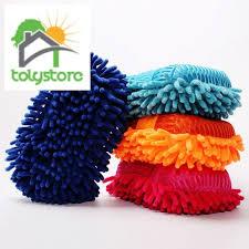 Ultrafine Fiber <b>Chenille</b> Anthozoan <b>Car Wash Gloves</b> Brushes ...