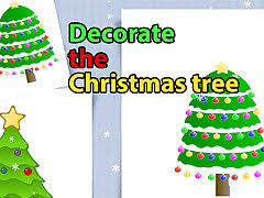 <b>Decorate</b> the Christmas <b>Tree</b> for Kids - free online game