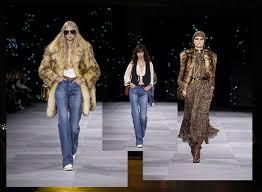 Французская буржуазия и 70-е в коллекции <b>Celine</b> весна-лето 2020