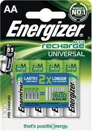 Купить <b>аккумулятор Energizer Universal NH15/AA</b>, 4 шт ...