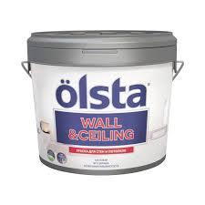 <b>Краска Olsta Wall&Ceiling База</b> А 0,9 л (1001701668) купить в ...