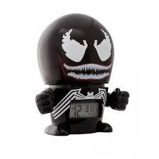 <b>Часы Марвел</b> (<b>Marvel</b>) <b>Будильник</b> BulbBotz минифигура Venom ...