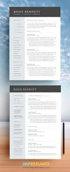 17 best images about resumes character sheet elegant and sophisticated this resume template package includes a résumé cover letter references page and an faq complete fonts