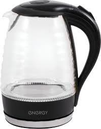 Купить электрический <b>чайник</b> Energy E-283 <b>wave</b>, Металл/стекло ...