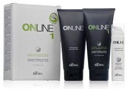 Kaaral Online <b>Выпрямляющий крем</b> №1 для нормальных волос