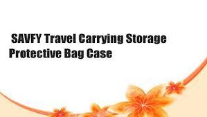 SAVFY <b>Travel</b> Carrying Storage <b>Protective Bag Case</b> - video ...