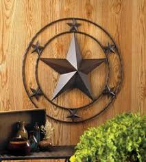 metal star wall decor: texas western style star wall metal quot large art plaque decor unbranded