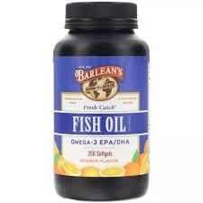 Barlean's <b>Omega-3 Fish Oil Fresh Catch</b>