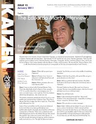 kaizen the eduardo marty interview liberty studies the latest issue of kaizen pdf features stephen hicks interview the excellent eduardo marty founder of junior achievement in as well as
