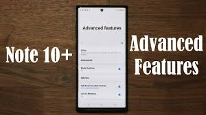 Galaxy Note 10 Plus - The Advanced Features - YouTube