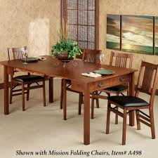 brown mission style dining room chairs