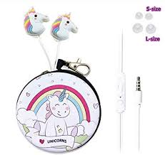 QearFun in Ear 3D Cute Cartoon Animal Unicorn ... - Amazon.com