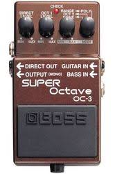 Boss OC-3 <b>SUPER Octave</b> (Гитарные педали BOSS)