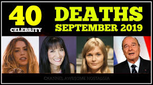 Celebrities Who Died In September 2019 - Latest Celebrity News ...