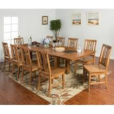 designs sedona table top base: sunny designs sedona  piece adj height dining table set